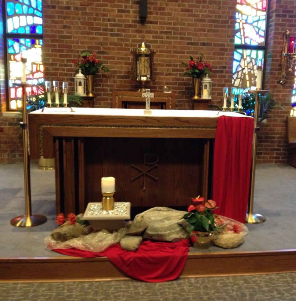 Altar Ideas: Pentecost Altar