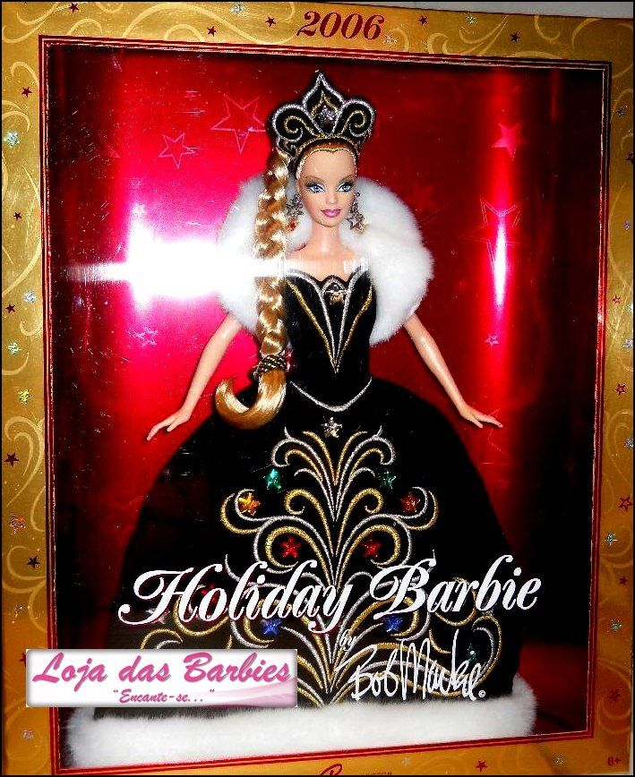 barbie collector | Barbie Collector : Lindíssima Barbie Holiday 2006 * Lacrada