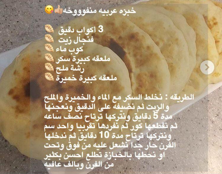 Pin By Ramya On Arabic Food Bread جميع وصفات الخبز Recipes Bread Baking Bread