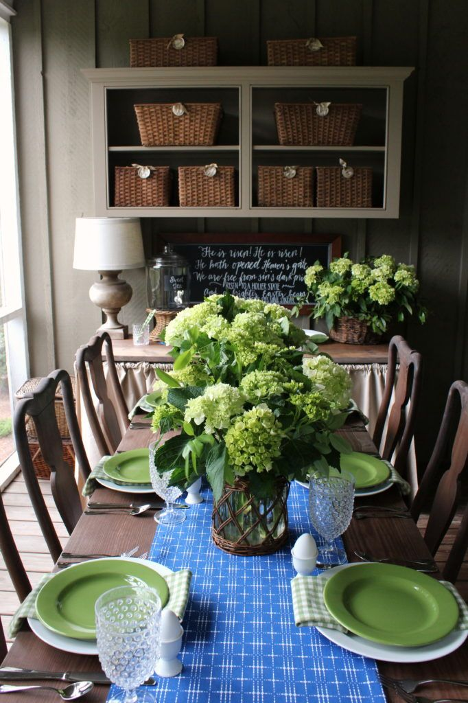 Spring And Easter Decorating Part 3 Talk Of The House Farmhouse Decor Decor House Interior