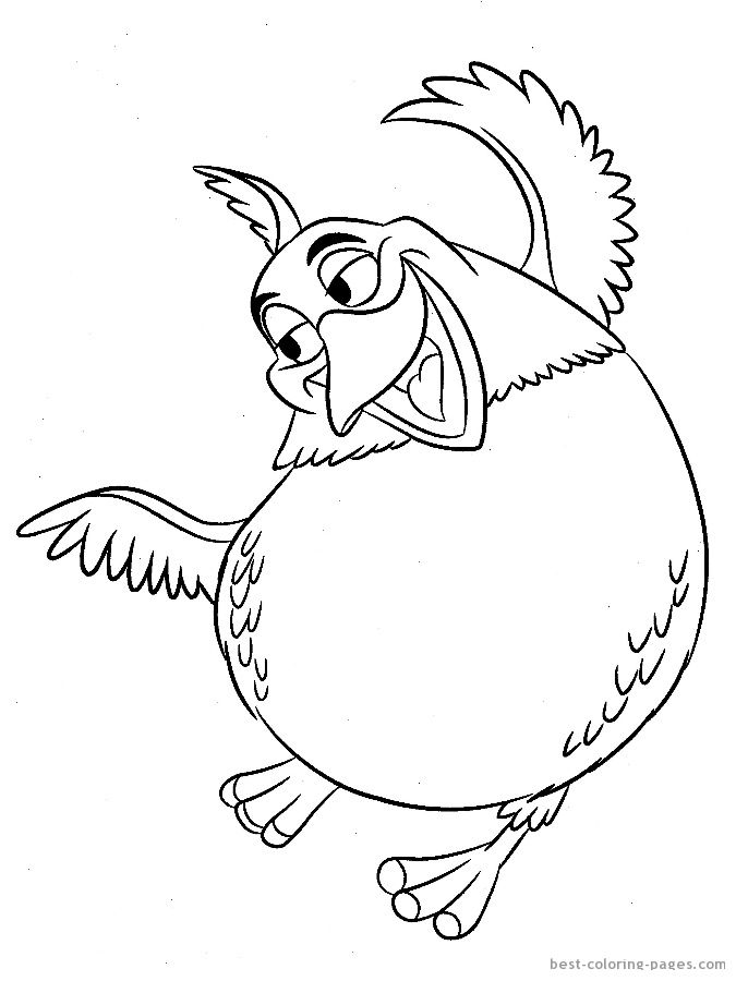 Top 15 Rio Movie Coloring Pages For Your Little Ones | 900x675