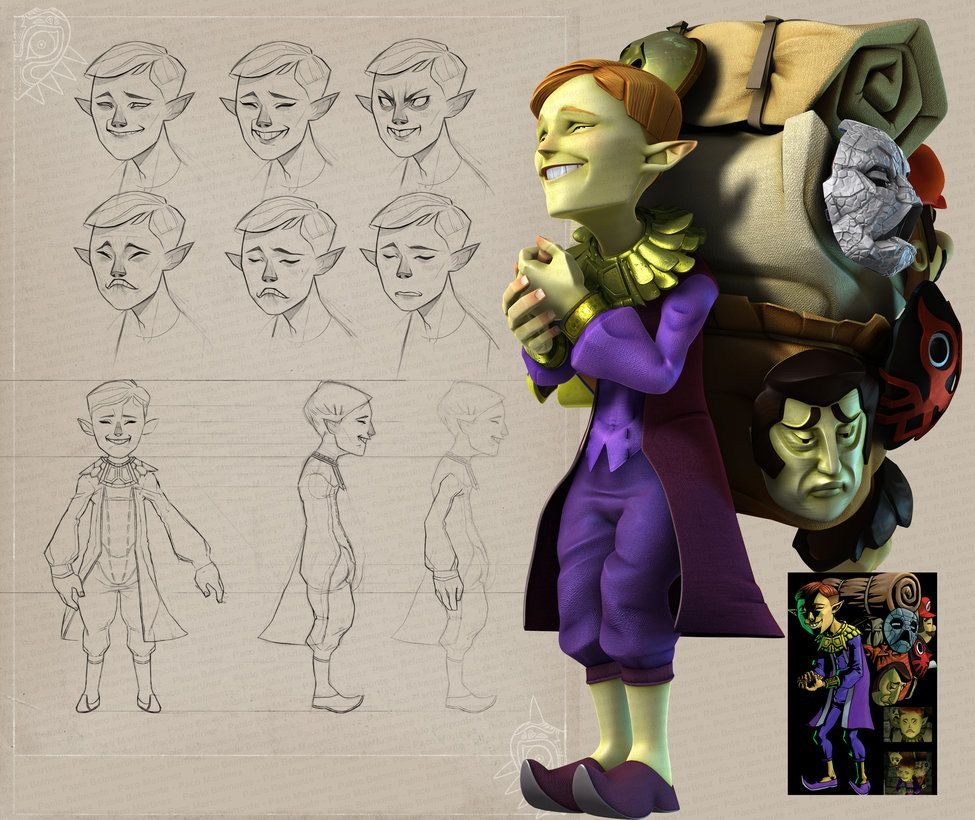 Happy Mask Salesman by PabloBelmonte on DeviantArt | 3D Modelling ...