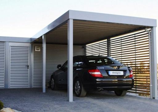 Contoh Desain Garasi Mobil Minimalis 2019 Rumah, Garasi