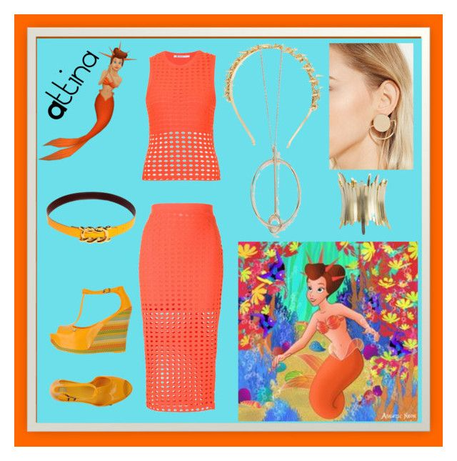 """""""You can BE A-T-tina❕"""" by itshallbe on Polyvore featuring art"""