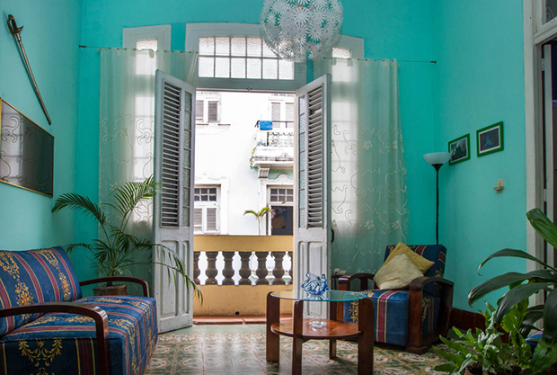 Design inspiration from Cuba Design inspiration Turquoise walls