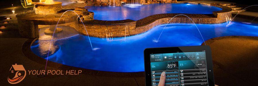 Pool Spa Automation Systems The Days Of Walking Through The