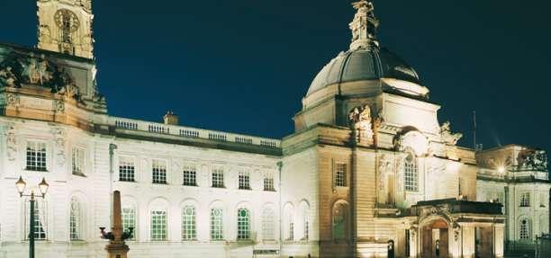 Cardiff City Hall Glamorgan