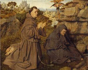 St. Francis Receiving the Stigmata - Jan van Eyck