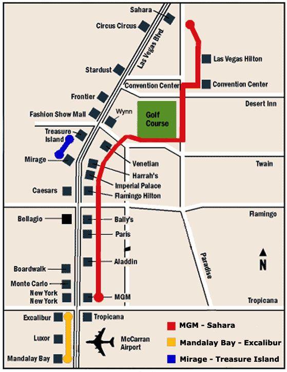 las vegas boulevard map Google Search NV Pinterest Vegas