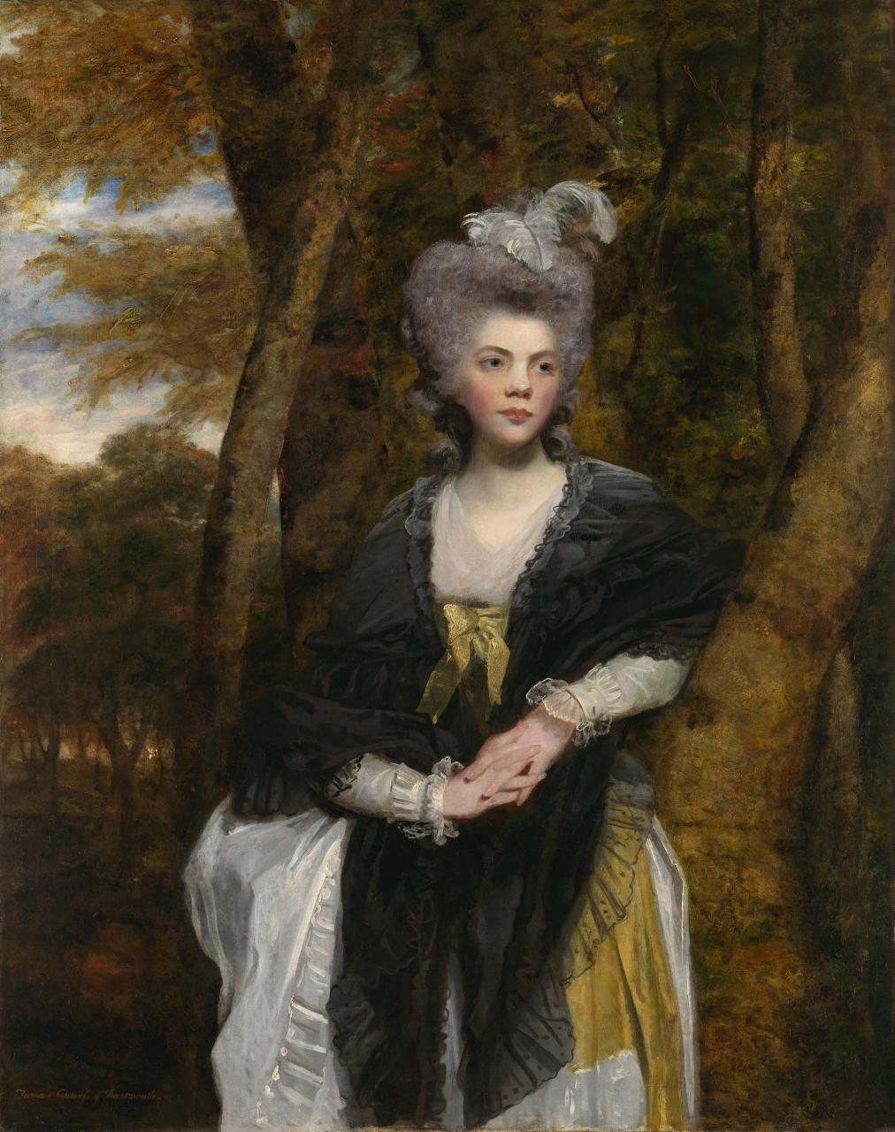 Color & Light - Joshua Reynolds - Lady Frances Finch -1781-1782