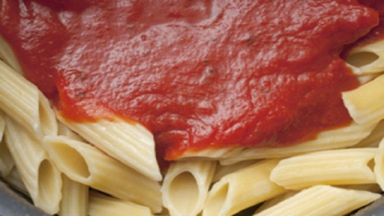 Salsa de Tomate básica sin cebolla {Salsa Filetto}