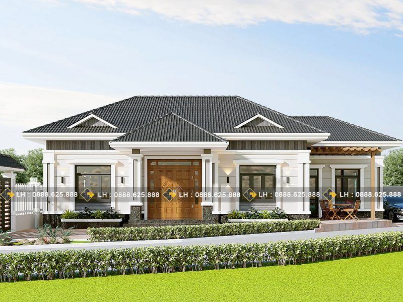 Magnificent Three Bedroom House Ulric Home Modern Bungalow House Modern Bungalow Modern Bungalow House Plans
