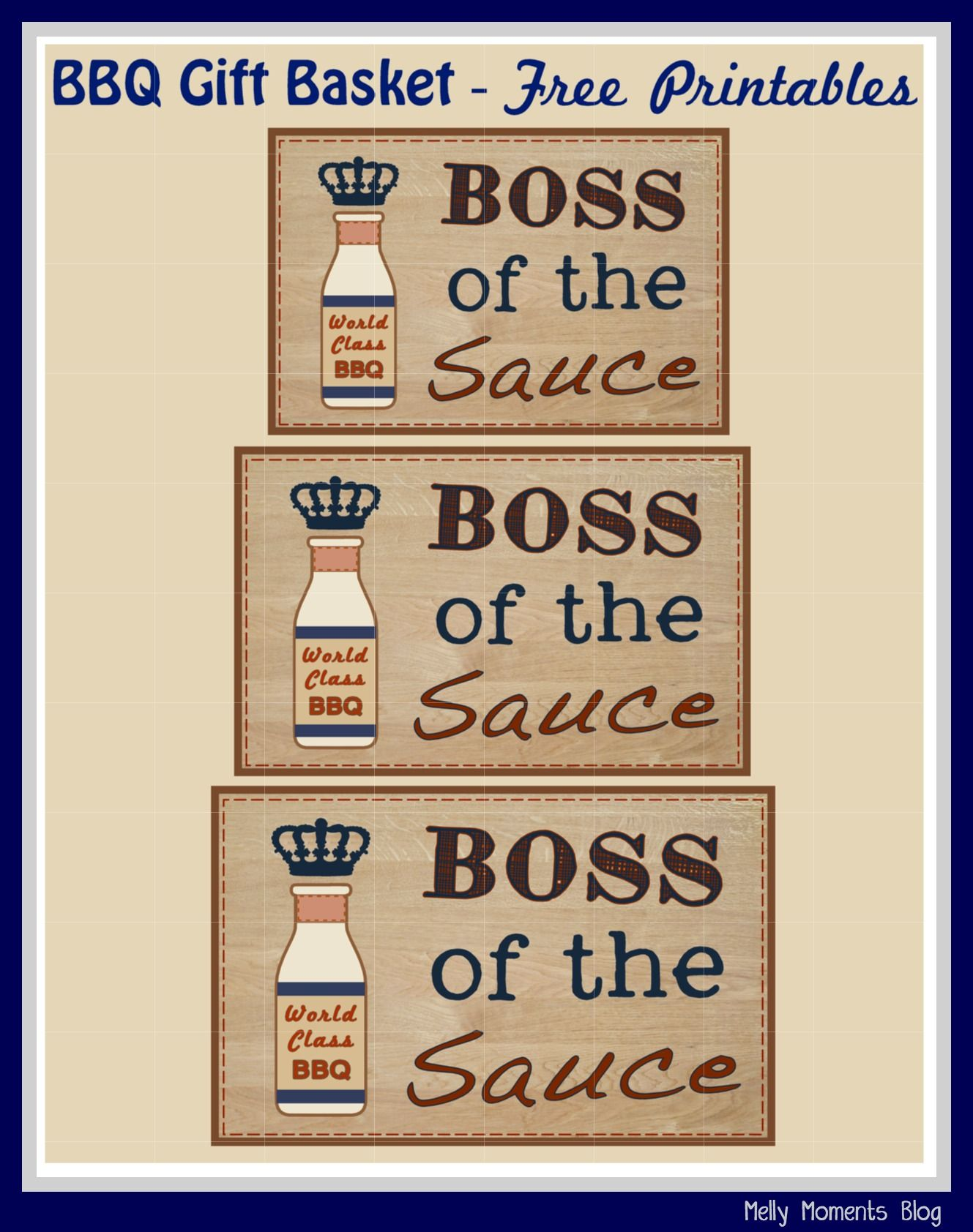 Boss of the sauce free fathers day gift tags and labels perfect boss of the sauce free fathers day gift tags and labels perfect to use with a bbqgrill themed basket that special man in your life husband negle Image collections