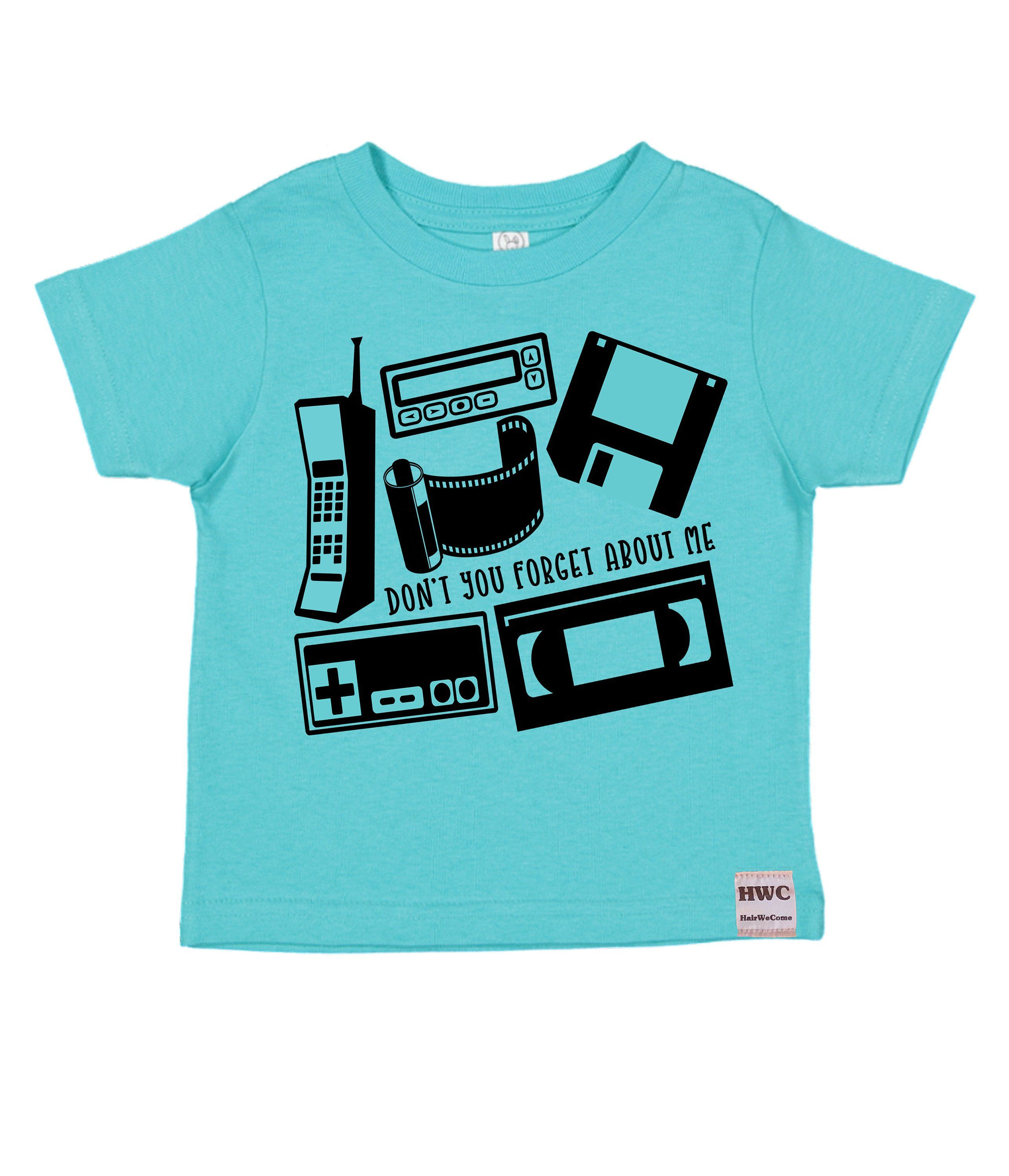 80s Technology Screenprinted, Infant, Toddler, Youth