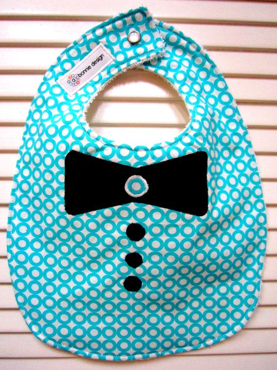 Baby Boy Bow Tie Bib Baby Clothes Baby Sewing Baby