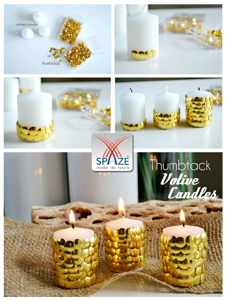 Delightful Ever Thought You Could Make Exquisite Diwali Candles At Home? DIY #Diwali  Decor #