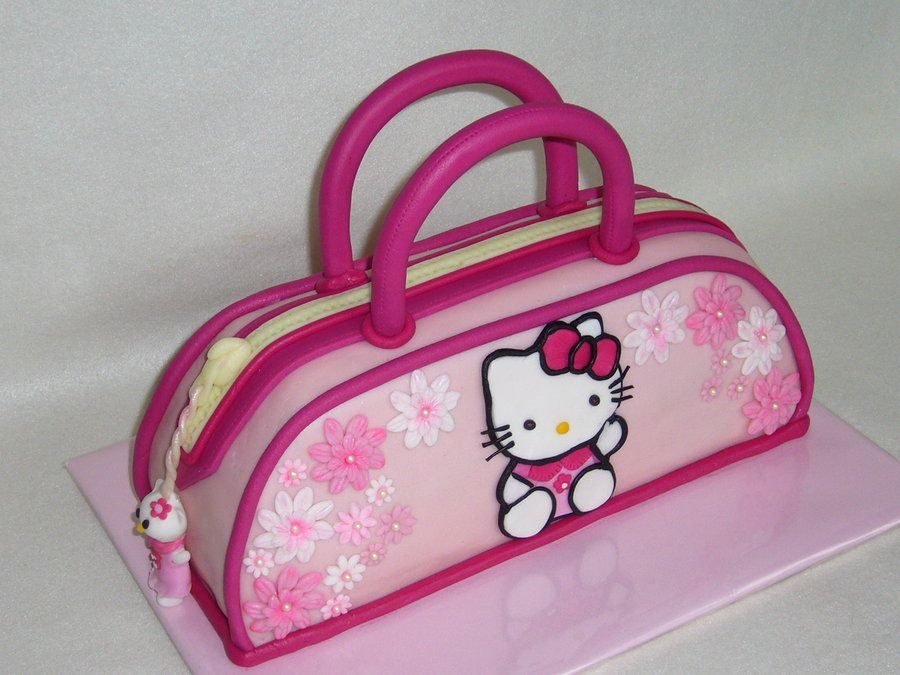 Pin By Cakesdecor On Editor S Choice Pinterest Handbag Cakes Kitty And Cake