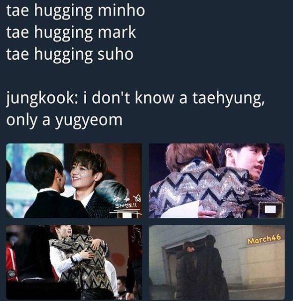 Jealous Boyfriends Taekook Jealous Boyfriend Bts Funny Jealous Boyfriend Quotes