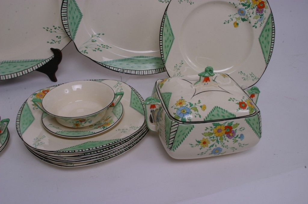 Lot 909 - A collection of Art Deco Burleigh & Lot 909 - A collection of Art Deco Burleigh | Bowls: Burleigh ware ...
