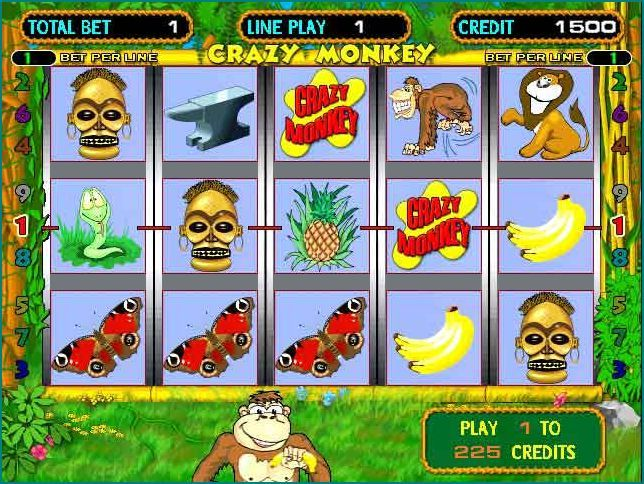 Игровые автоматы обезьяна играть бесплатно