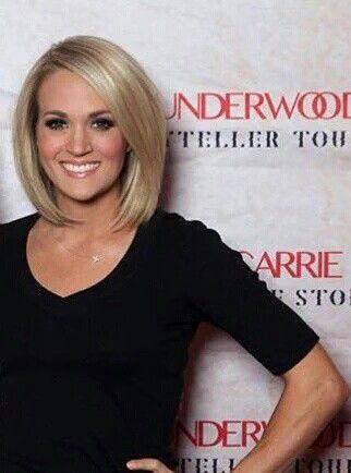 Carrieunderwood Carrie Underwood Hair Short Hair Styles Hair Styles