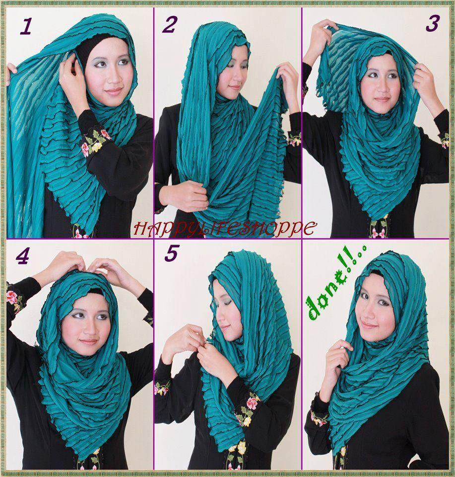 Hijab Fashion Inspiration Muslim Womens Style Tutorial