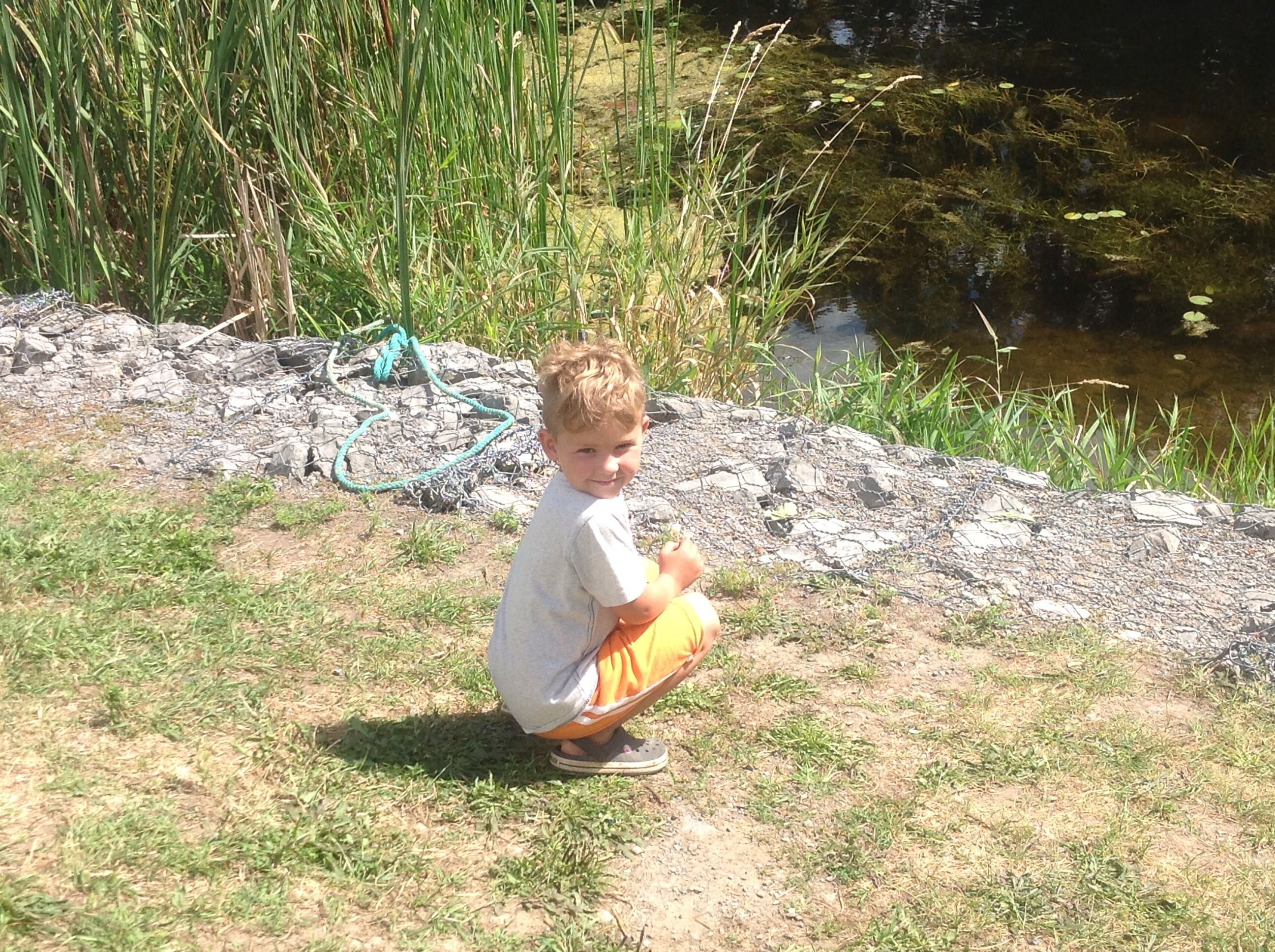My little man!