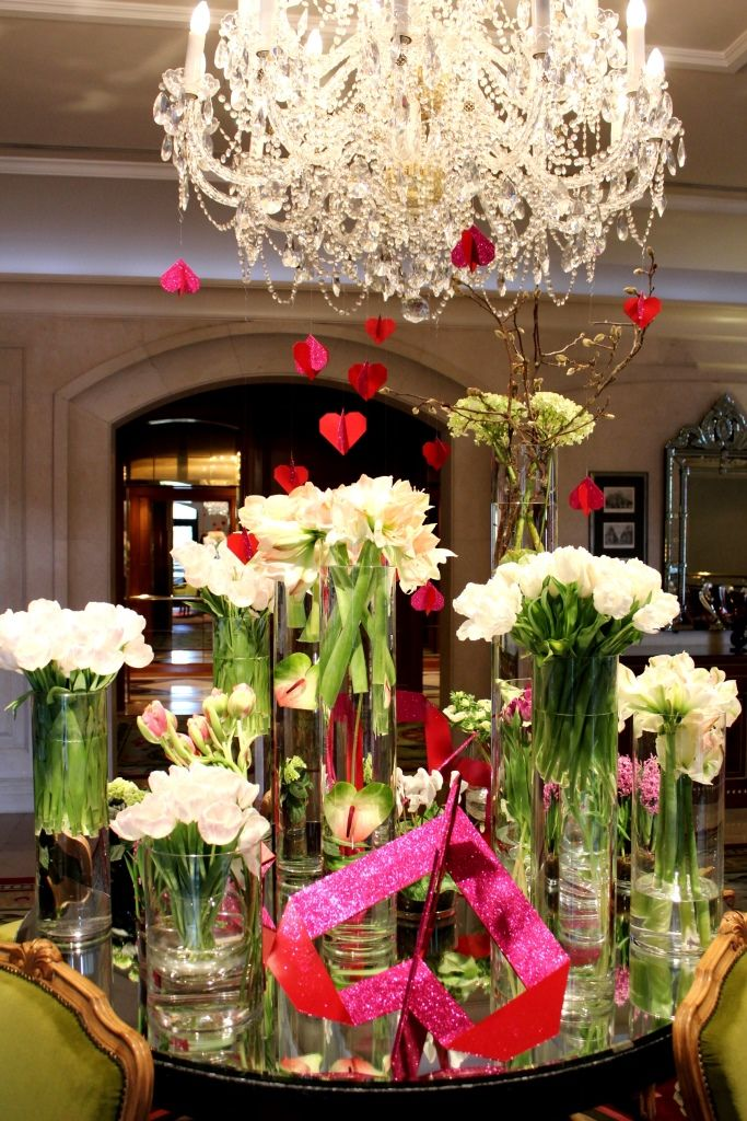 Valentine S Floral Decoration At The Four Seasons Hotel Prague S