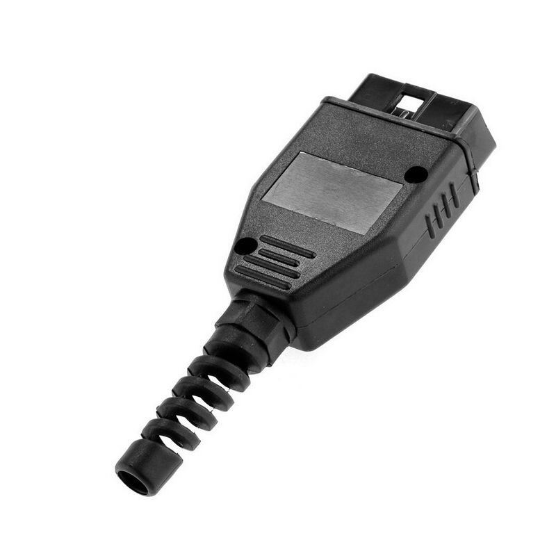 Obd2 Obdii J1962 Male Connector Plug Wiring For Diagnostic Tool 16 Pin Diy Shell Car Diagnostic Cables & Connectors