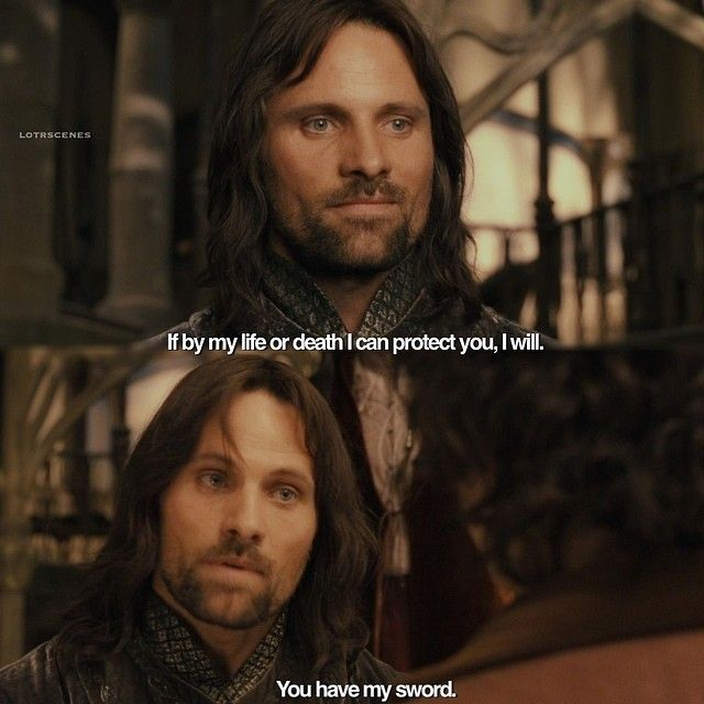 I love him so much ❤ wooo I dyed my hair red today and it looks hella rad  I'm in looooove  #lordoftherings #lotr #lotrscenes