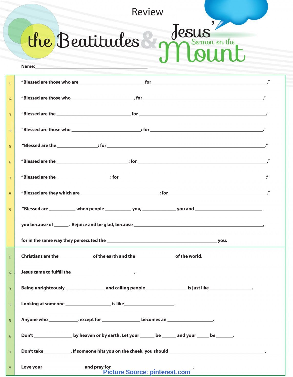 Unusual Lesson Plan For Sunday School Youth Worksheet To