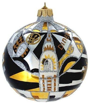 Art Deco Ball Ornament Michael Storrings for Landmark Creations