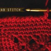 Crochet: Crab Stitch – Reverse Single Crochet