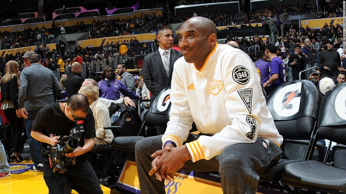 """Kobe Bryant is introduced before the start of an NBA game in Los Angeles on Sunday, November 29. The 17-time All-Star has announced that <a href=""""http://www.cnn.com/2015/11/30/sport/kobe-bryant-la-lakers-retirement/"""" target=""""_blank"""">he will retire at the end of the season. </a>"""