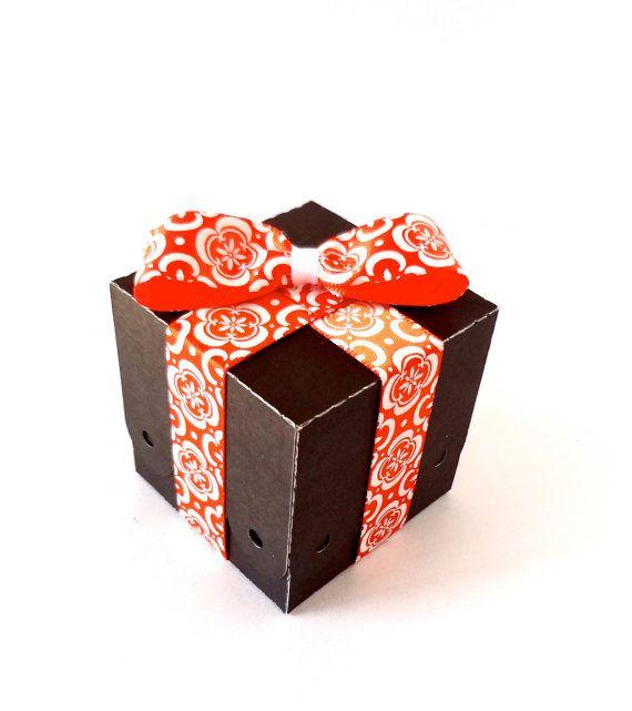 100 Mini Black Favor Box / Wedding Favour Box / by ThePaperBazaar, $65.87
