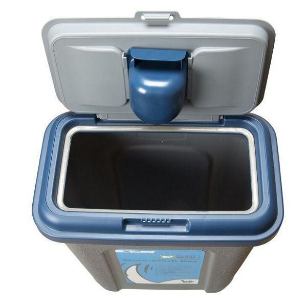 Store Fresh Dry Food Storage 15kg Grey X2f Blue On Sale Free