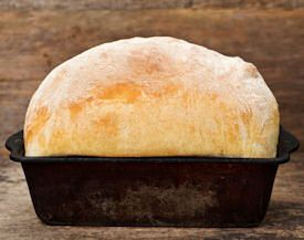 Many bread recipes for both oven and bread machine