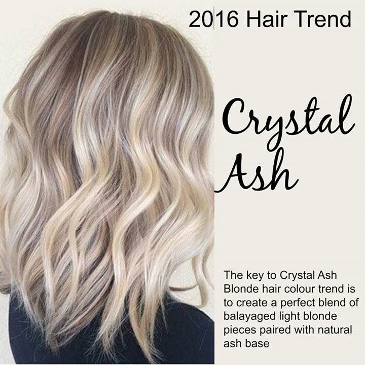Crystal Ash Blonde Hair Color Ideas For Winter 2016: Pin By Linzie Arnold On Hairs In 2019