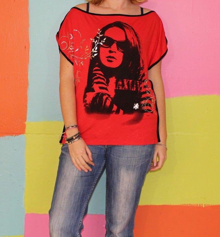 haut T-shirt femme ouvert sur les cotés TL 44-46 tagore chic ... 039be982b332