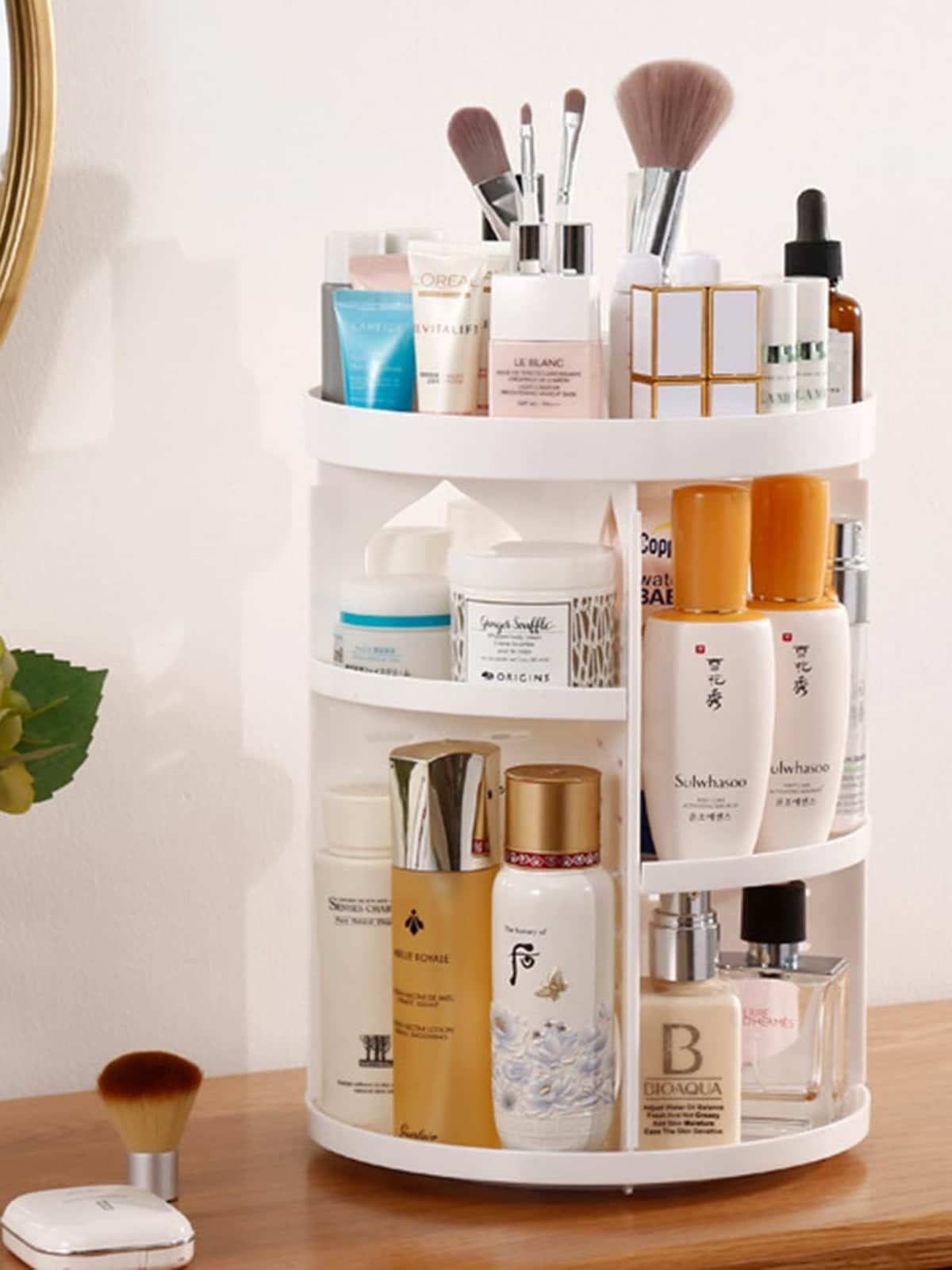 Multi Layer Cosmetic Storage Rack Makeup Storage Cosmetic