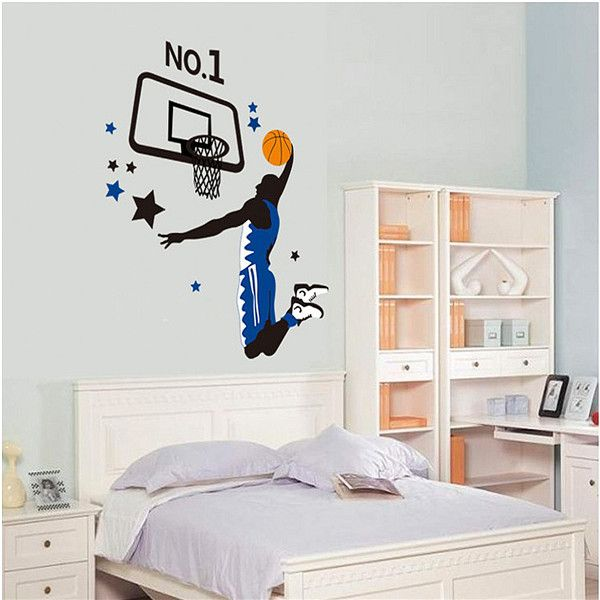 Decoration De Panier De Basket Ball Recherche Google Pared Vinilo Vinilos Dormitorios Ninos