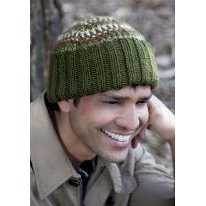 1cff551753fe7 Men s Tri-Color Hat FREE Knitting Pattern by Caron