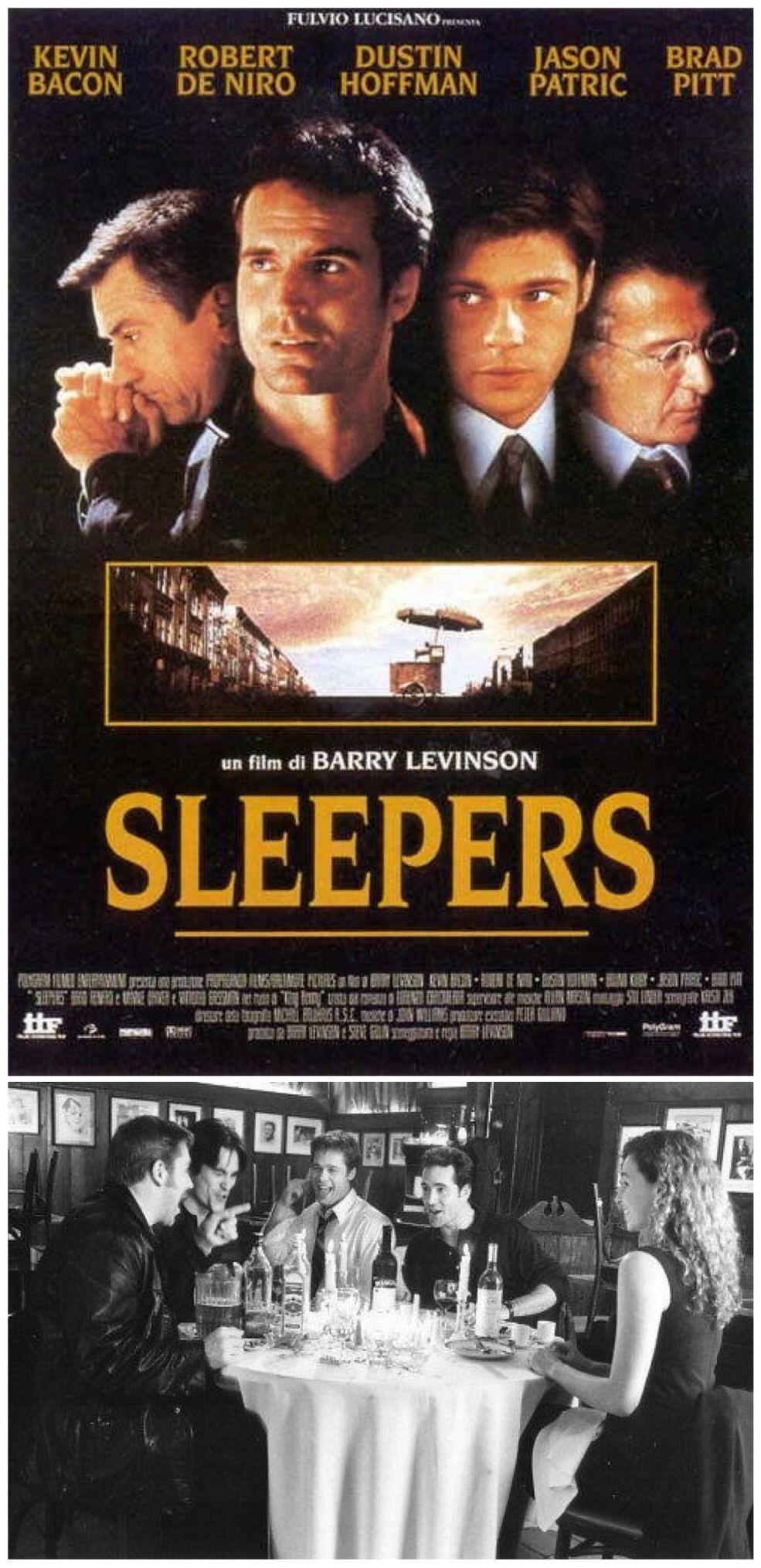 Sleepers 1996 Played Michael Sullivan Sleepers Movie Movie Blog Movie Posters