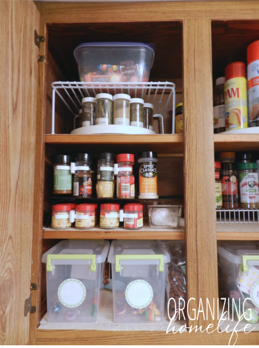 Beau How To Organize Your Spice Cabinet ~ Organize Your Kitchen Frugally Day 3
