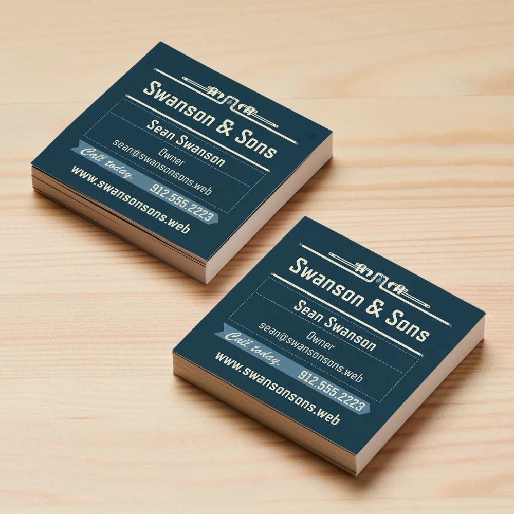 Square Business Cards Size 2 5 X 2 5 Vistaprint Square Business Cards Vistaprint Business Cards Printing Business Cards