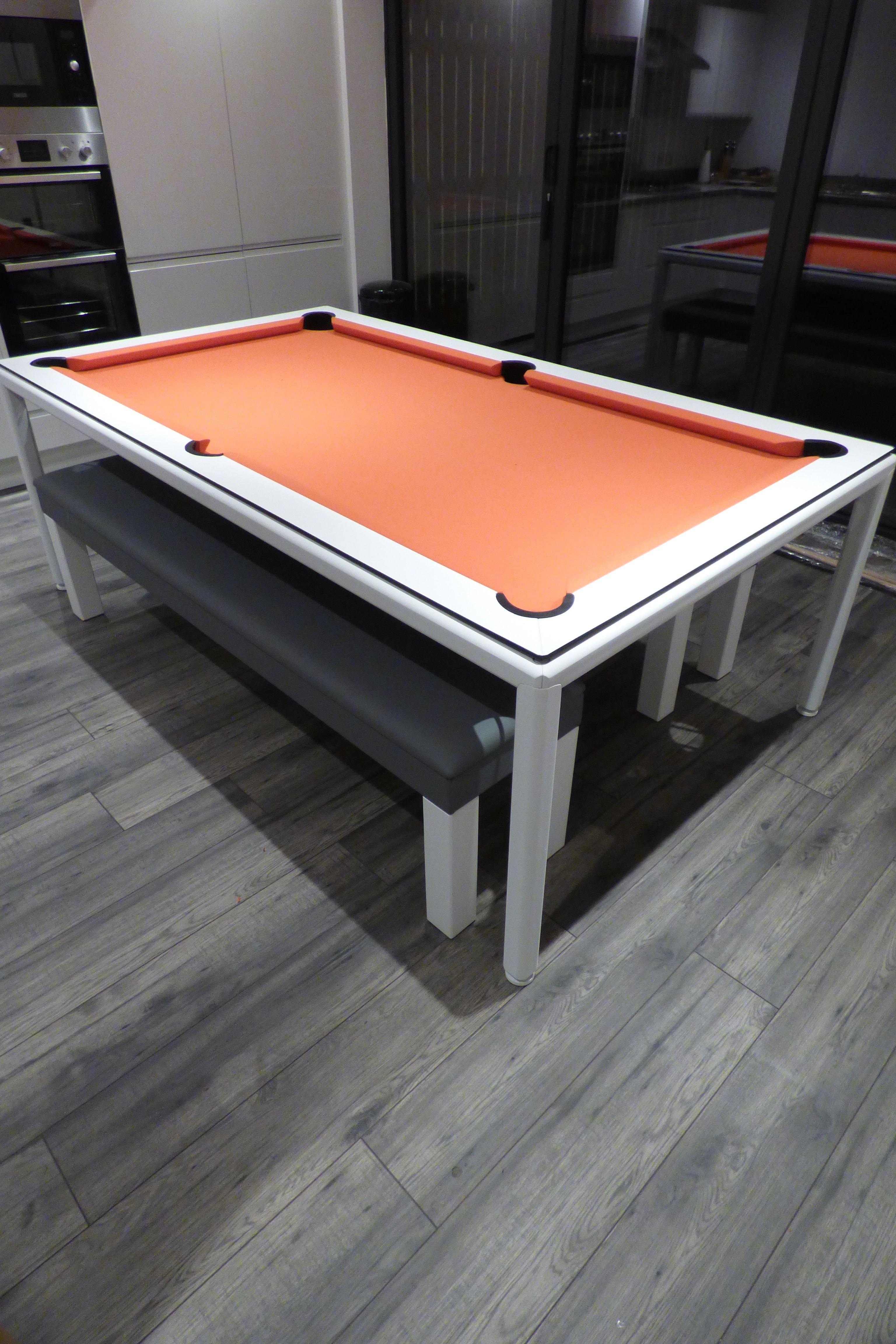 Slimline Pool Table Pool Table Dining Table Pool Table Custom