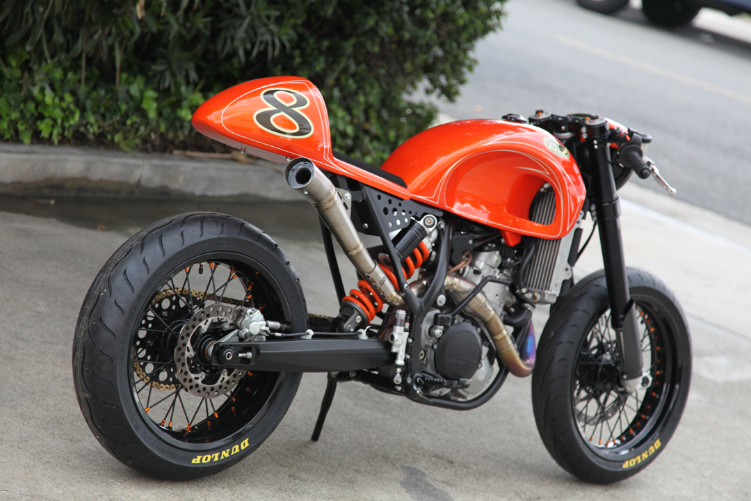 die besten 25 ktm cafe racer ideen auf pinterest cafe. Black Bedroom Furniture Sets. Home Design Ideas