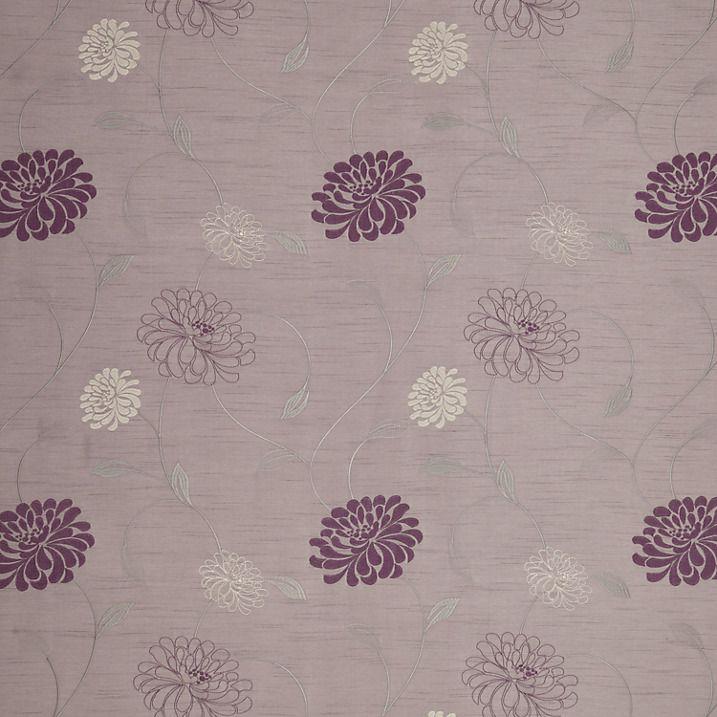 Buy John Lewis Priscilla Curtain Lilac John Lewis