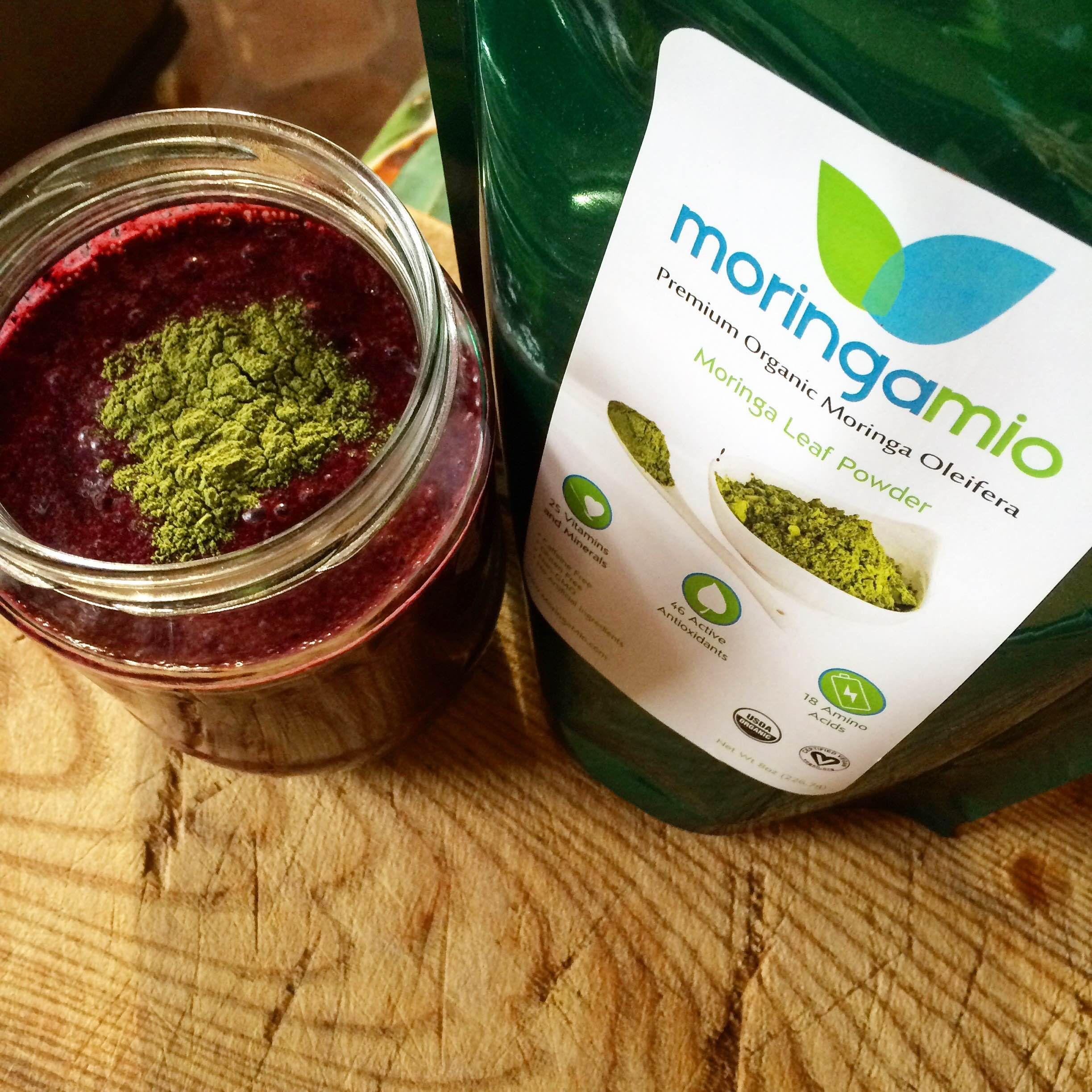 moringa powder juice recipes