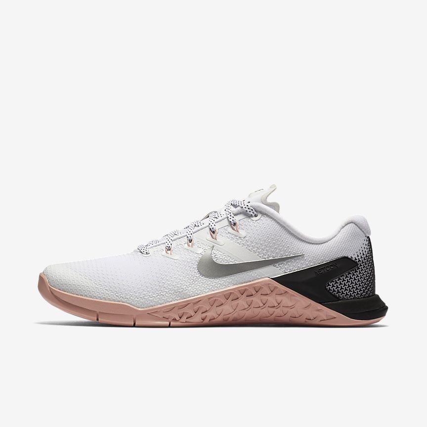 Nike Metcon 4 Women S Training Shoe In White Rust Pink Black